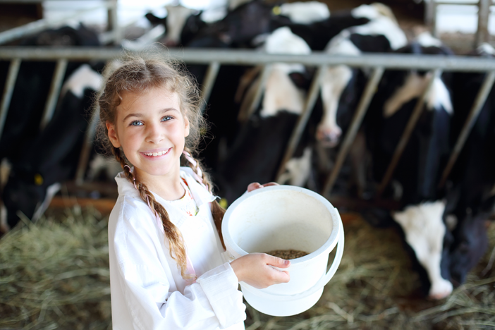 Lapselle turvallinen maatila
