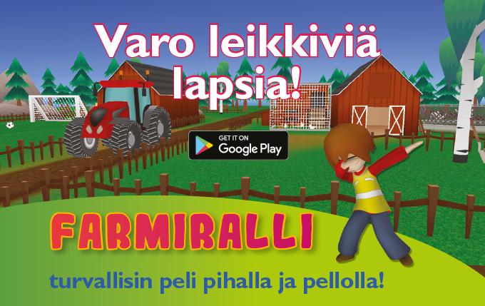 Farmiralli - maatilan turvallisin peli!